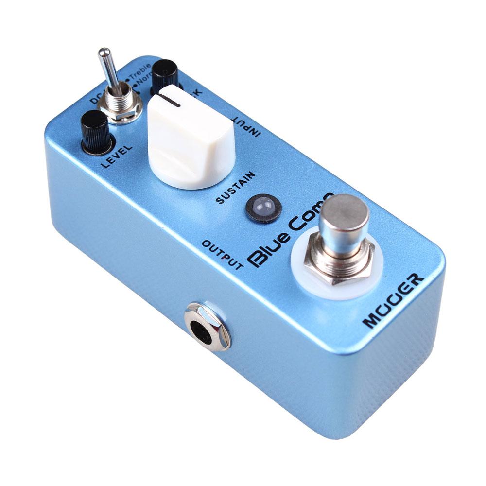 mooer blue comp optical compressor effect pedal legendary optical compressor incredible smooth. Black Bedroom Furniture Sets. Home Design Ideas