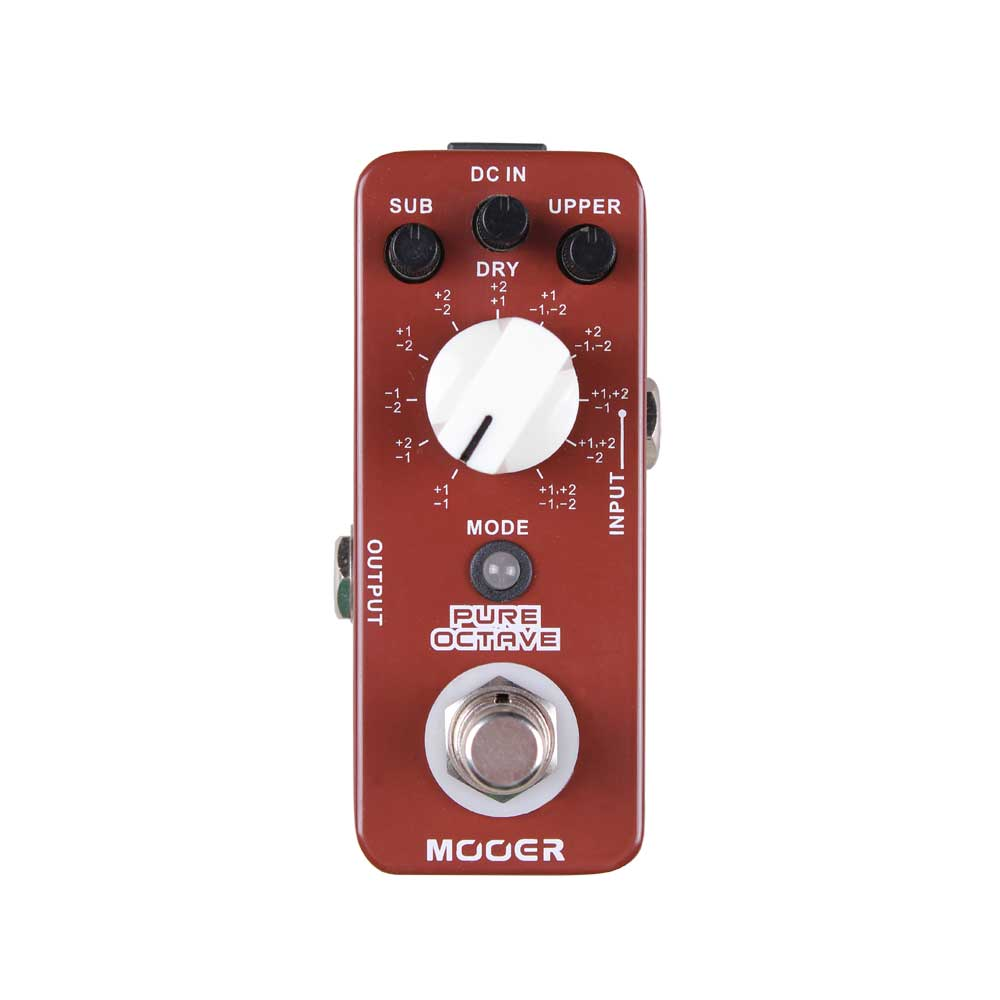 mooer pure octave effect pedal with no distorted sound wtfaccessoreis. Black Bedroom Furniture Sets. Home Design Ideas