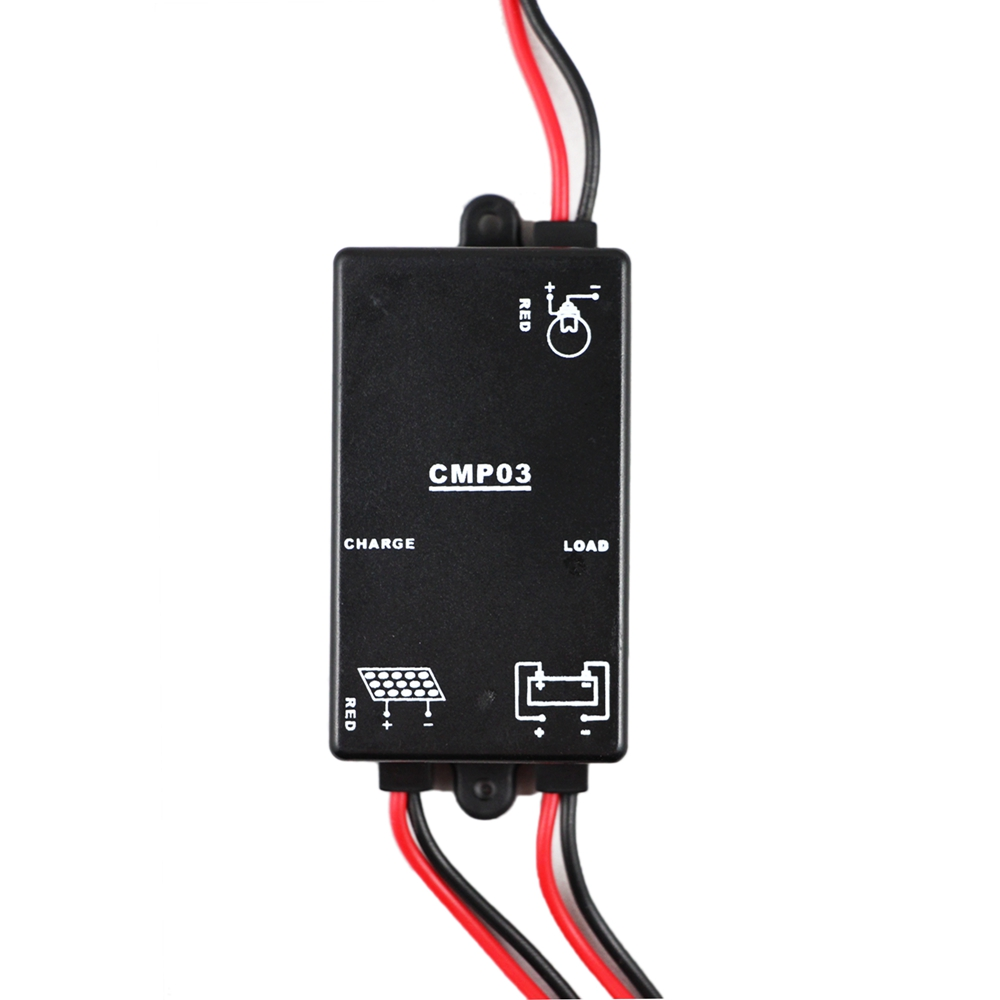 Y Solar 3a 6v Controller Garden Lights Led Electrical Wiring Outside Load On 8 Hours
