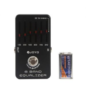 joyo Equalizer with 6 Bands Guiatr Effect Pedal EQ JF-11
