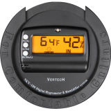 Round Digital Hygrometer for Humidors,for Acoustic Guitar Vertech SYK-98,105