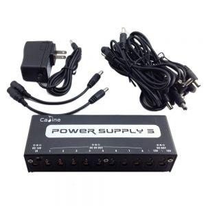 caline cp 05 power supply 10 outputs 9v 18v cp 05 for guitar effect pedals. Black Bedroom Furniture Sets. Home Design Ideas